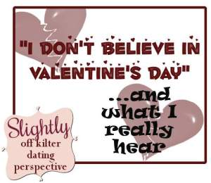 valentines day for dummies - Slightly off Kilter
