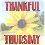 Thankful Thursday – Reflecting