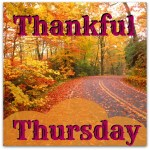 Thankful Thursday – October 23