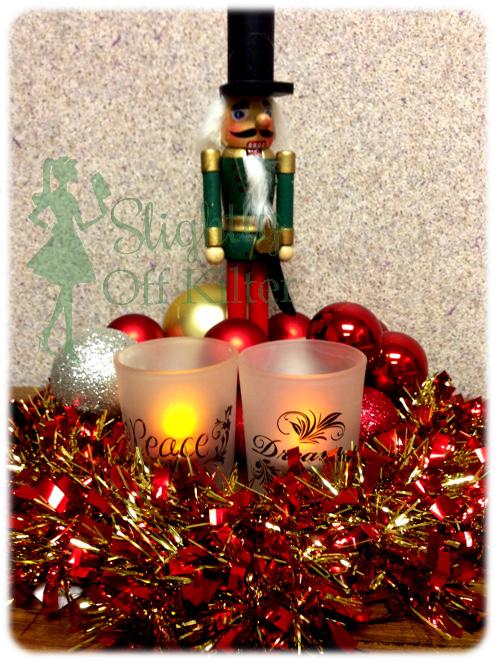 christmas decor with the dollar tree