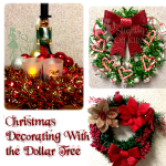 Christmas Decorating with the Dollar Tree