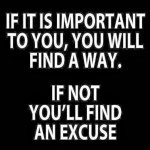 Reasons or excuses…