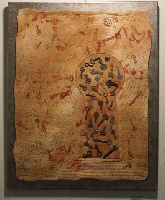 """""""Lost and Found"""" an Art Quilt by Rene Jennings"""