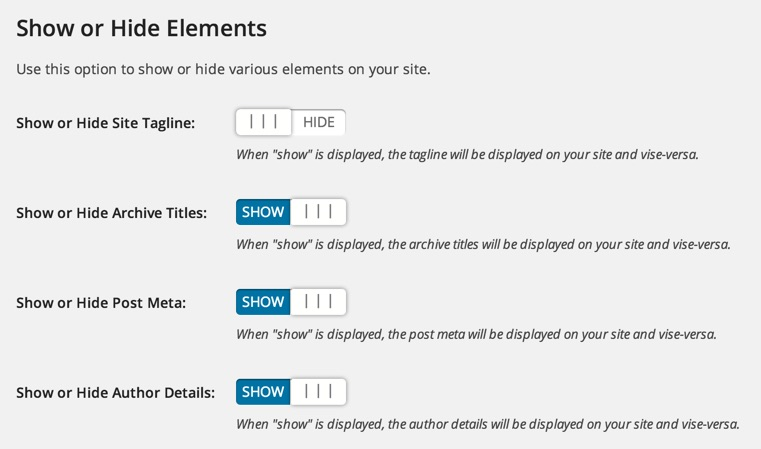 Show or Hide Content WordPress