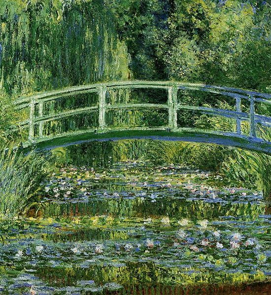 Water Lilies and the Japanese bridge, 1897–99