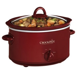Crock-Pot 4-Quart Oval Manual Slow Cooker