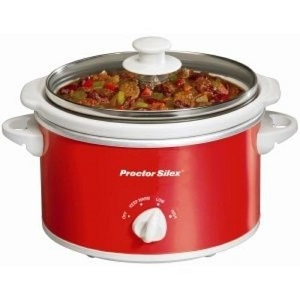 Proctor Silex 1.5-Quart Portable Oval Slow Cooker