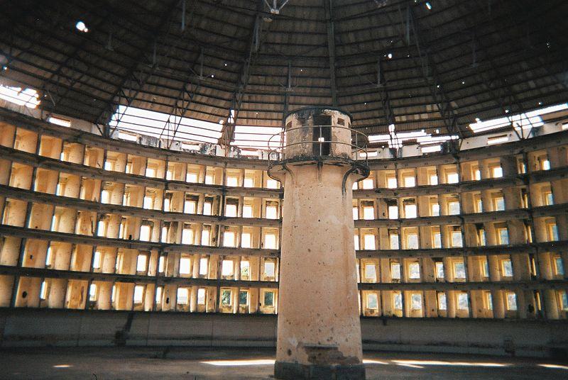 단일 식별자는 디지털 원형감옥(판옵티콘)을 초래할 수도 있다. (위키백과 공용)