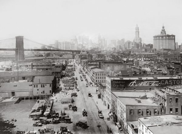 포토그라피움닷컴에서 공유중인 1917년 뉴욕 브룩클린 대교 근방의 사진