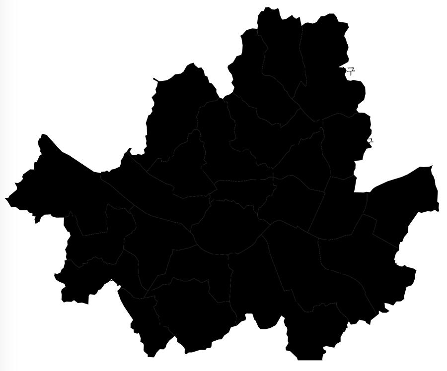 서울 지도