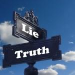 선택 초이스 거짓 진실 거짓말 갈림길