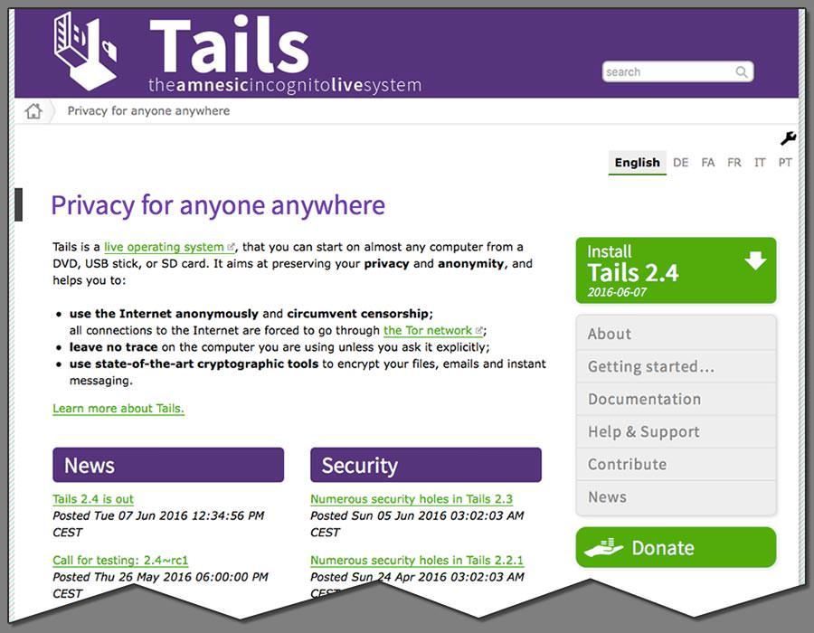 테일즈(Tails)