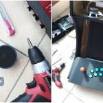 오락실 게임기 만들기 2: 케이스 제작