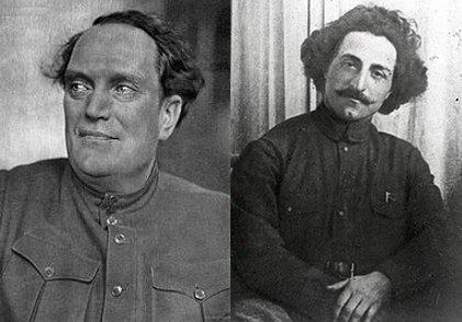 발레리안 쿠이비셰프(왼쪽), 세르고 오르조니키제(오른쪽)