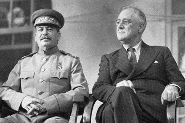 루즈벨트 스탈린