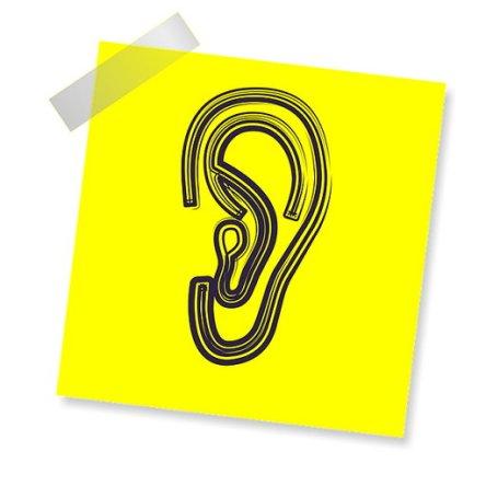 리스닝 듣기 귀 경청