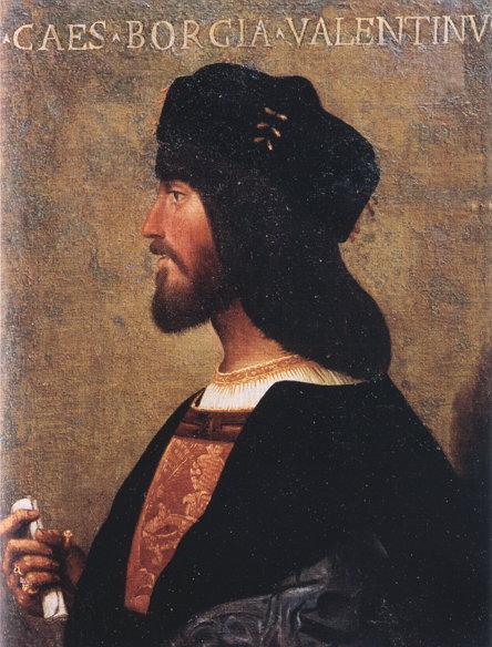 체사레 보르자 (1500~1510년 경)