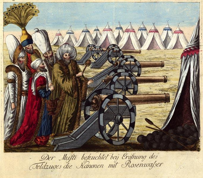 Ottoman Army artillerymen, 1788 (Wien Museum)
