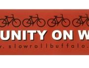Slow Roll Buffalo Top Tube Sticker
