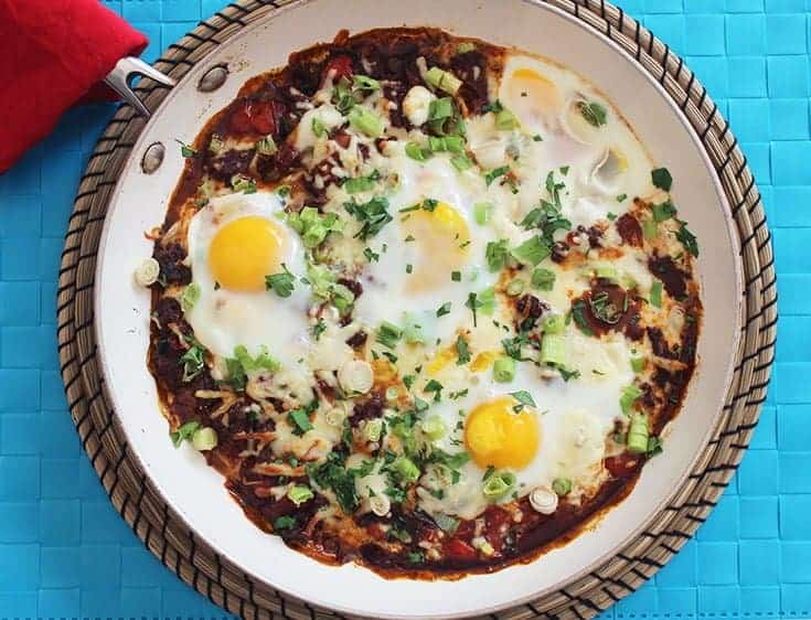 Spicy Beef and Cheese Brunch