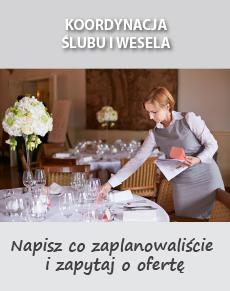 koordynacja ślubu i wesela