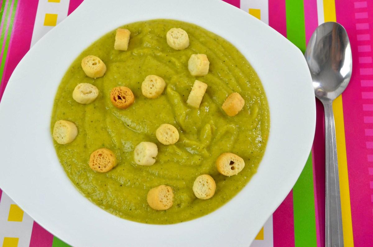 Zupa krem z brokułów + film