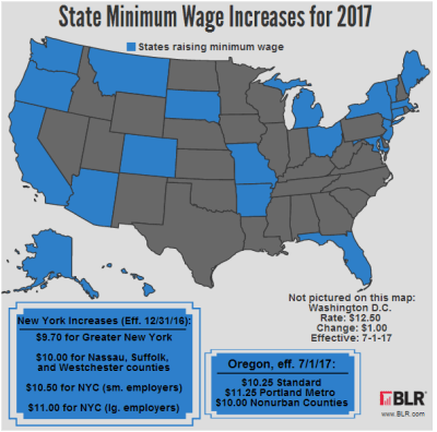 Minimum Wage Going Up in Many Communities: Is Your Business Affected? - Small Business Trends