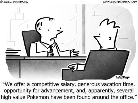 Pokemon Business Cartoon