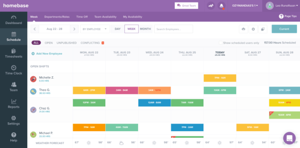 20 Employee Scheduling Software Solutions for Small Businesses - Homebase