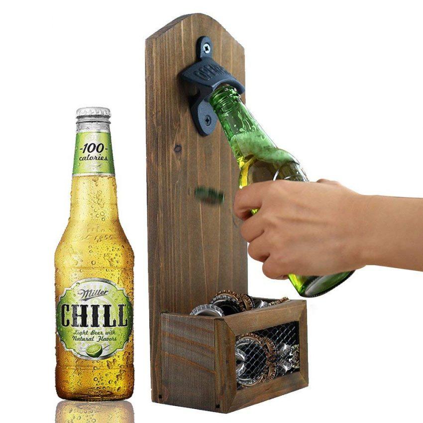 Secret Santa Gift Ideas for Your Next Office Party - Wooden Bottle Opener