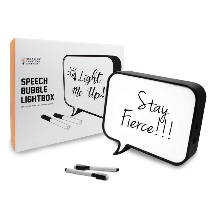 Secret Santa Gift Ideas for Your Next Office Party - LED Light Box