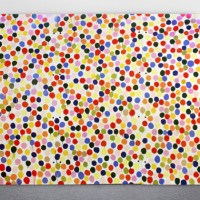 inspired by . Damien Hirst Spots