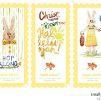 make . Easter Cards & Bookmarks [printable]