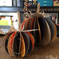 make . Paper Pumpkins