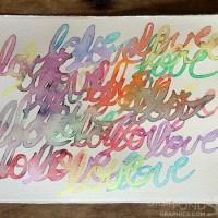 make . DIY Watercolor Paint