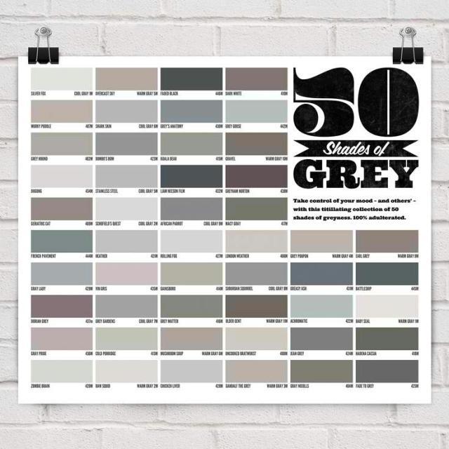 Cinquante nuances plus claires de gris