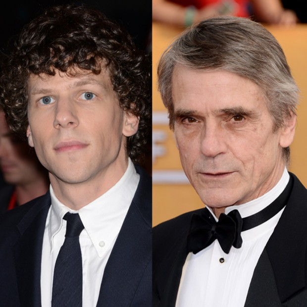 Batman-vs-Superman-Jesse-Eisenberg-et-Jeremy-Irons-a-l-affiche
