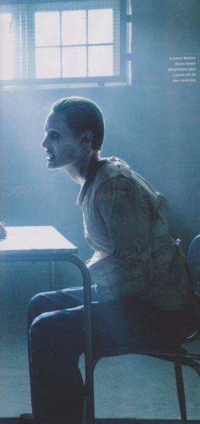Tandis que le Joker a semble-t-il déjà du vécu... @Warner