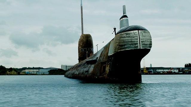 Le sous-marin du film !