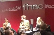 Rencontre avec Salma Hayek et Mika à la Fnac des Ternes