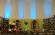 La Main Stage, reconstitution du décor du 221B Baker Street.