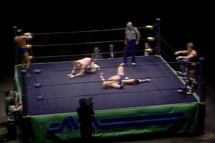 nwa starrcade 1986 opening match