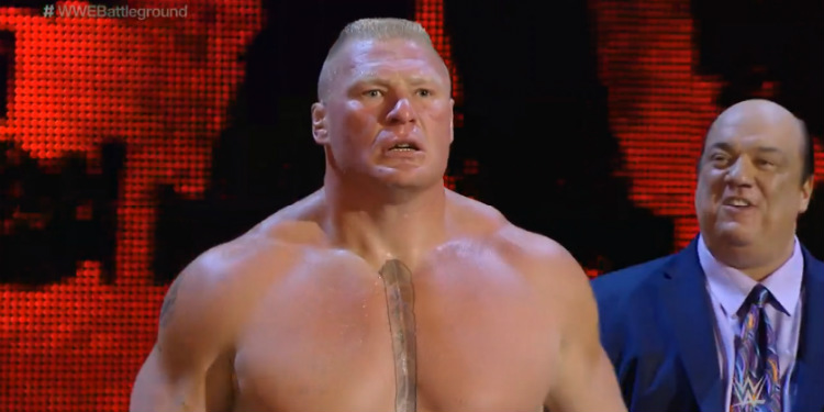 brock lesnar battleground 2015