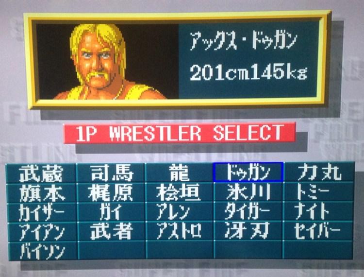 super fire pro wrestling 2