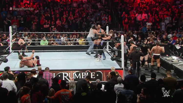 royal rumble match 2016