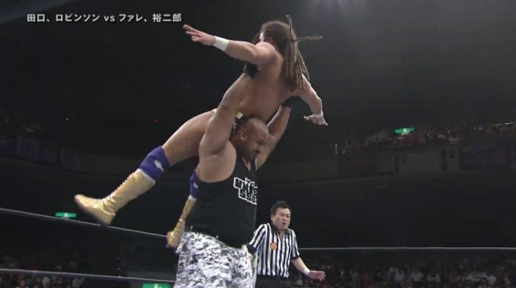 njpw invasion attack fale takahashi vs robinson taguchi