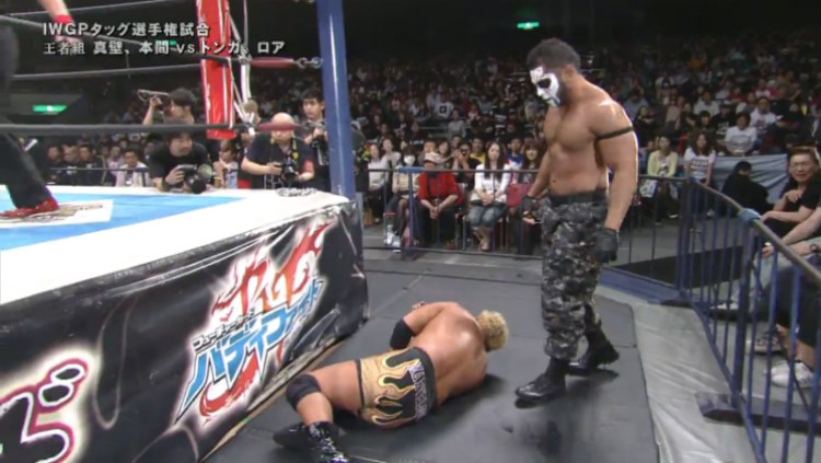 njpw invasion attack great bash heel vs guerrillas of destiny