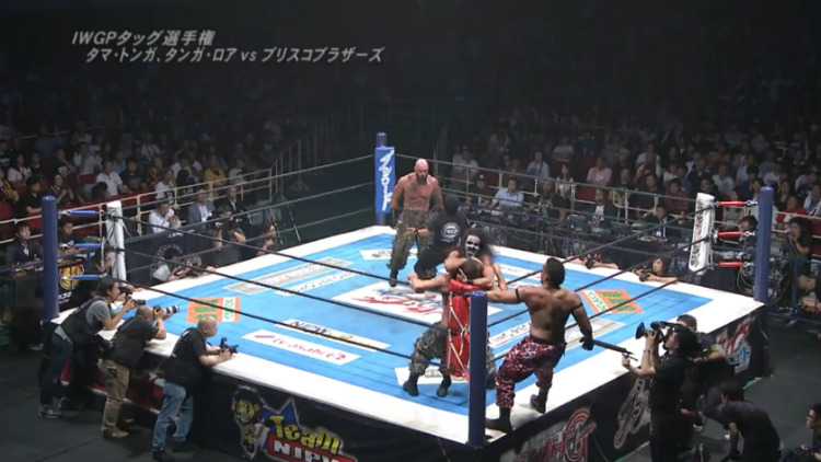 njpw dominion 2016 briscoes vs guerrillas of destiny