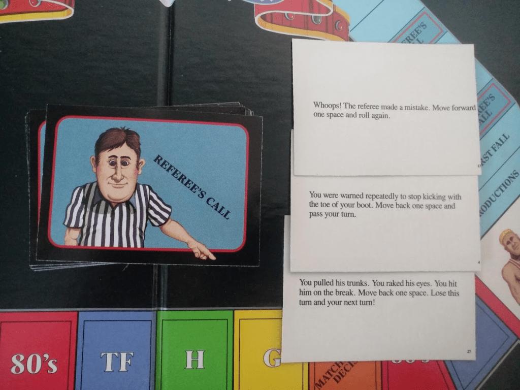 Esimerkkejä Referee's Call korteista
