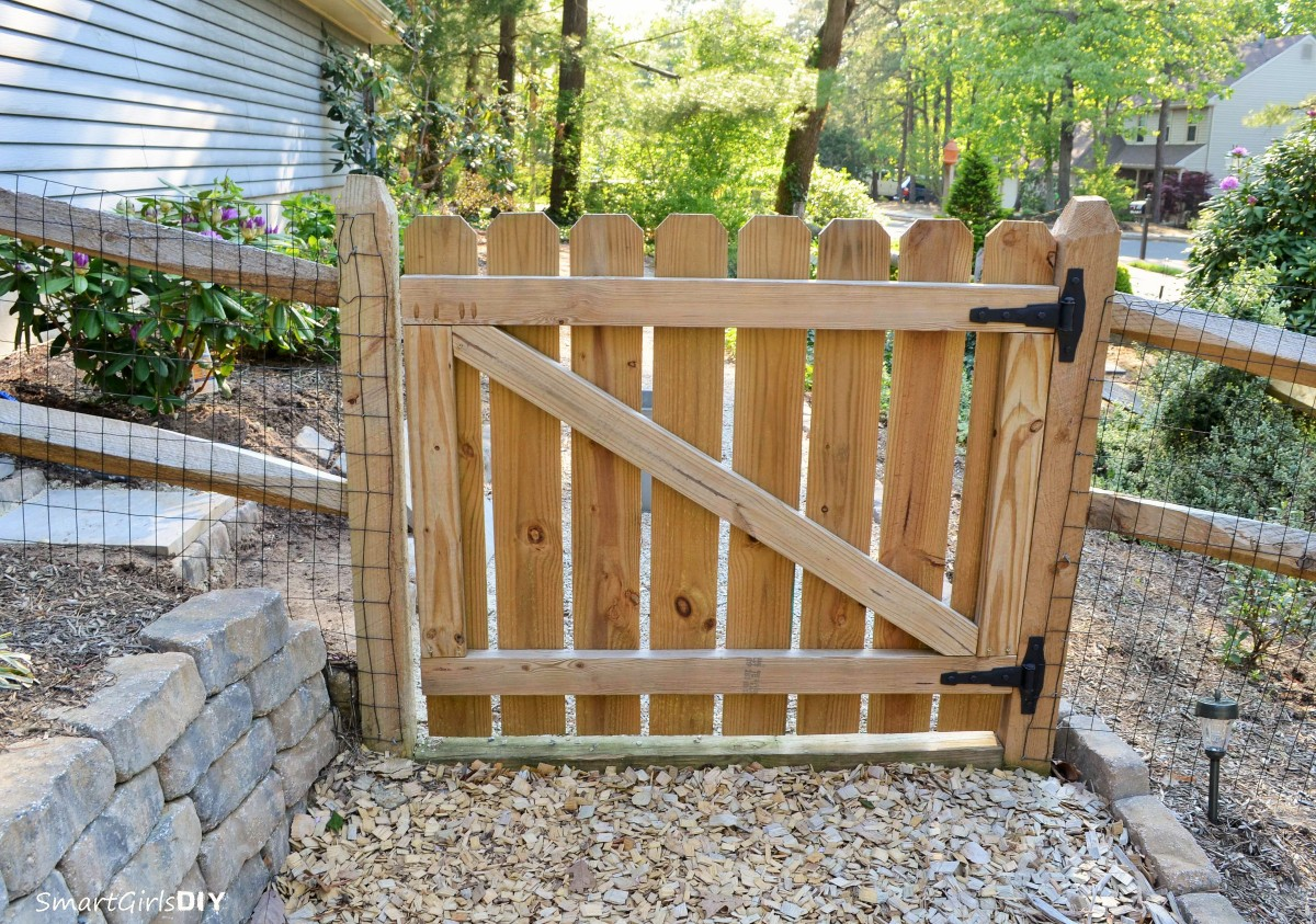 Wood Fence Gate Plans E In Decorating